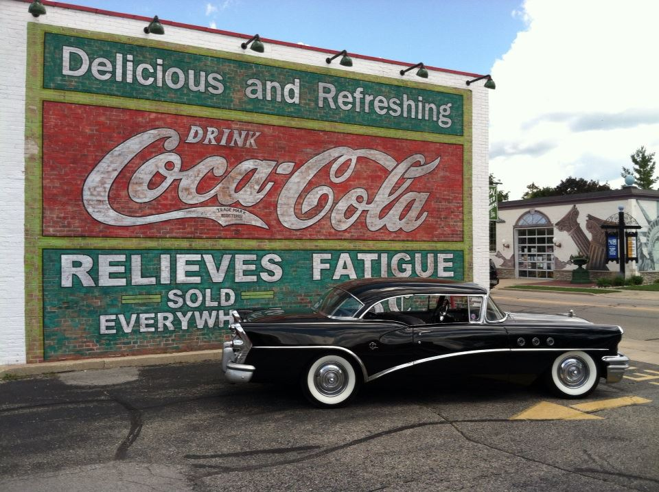 Chads Buick in front of old sign.jpg