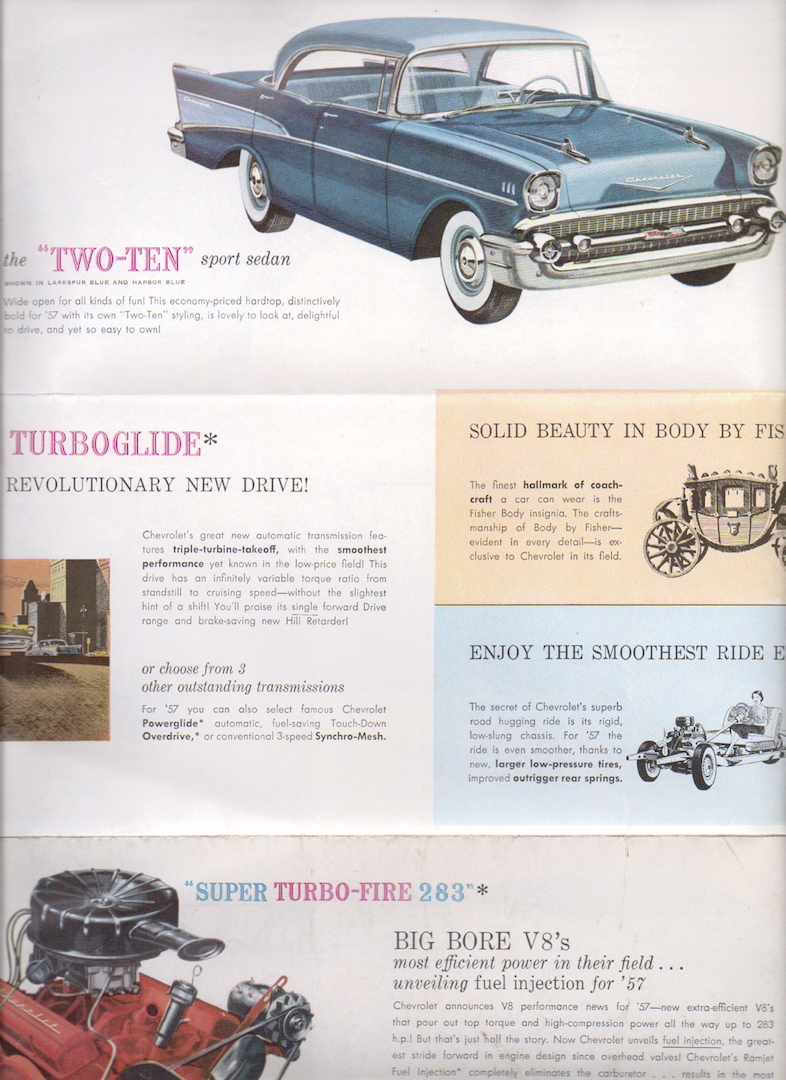 1957 Chevrolet Advertising Package | The H.A.M.B.