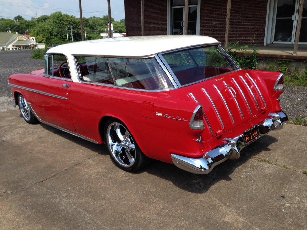 1955 55 chevy nomad wagon sold