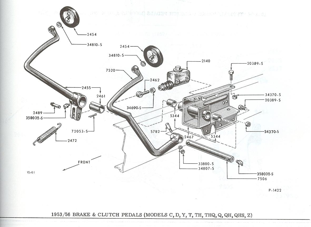 1956 Ford F100 Brake Diagrams House Wiring Diagram Symbols 1953 Black Technical Please Help Y Block T86 Clutch Mount The H A M B Rh Jalopyjournal Com 1965 1960