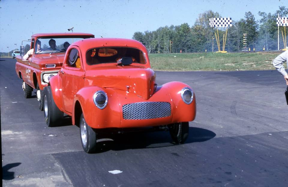 Connecticut Dragway-Angelo Greco's 37 Willys-return road.jpg