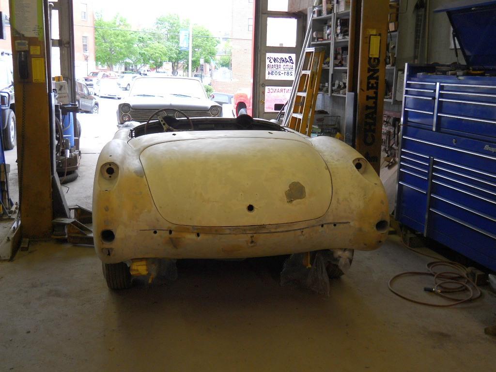 Corvette day 1 at shop (2).JPG