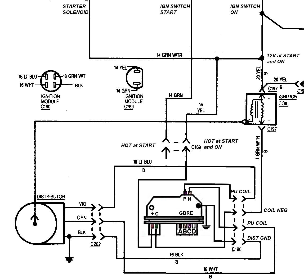 ford ignition control module wiring diagram ford 1979 ford ignition module wiring diagram wiring diagram and hernes on ford ignition control module wiring