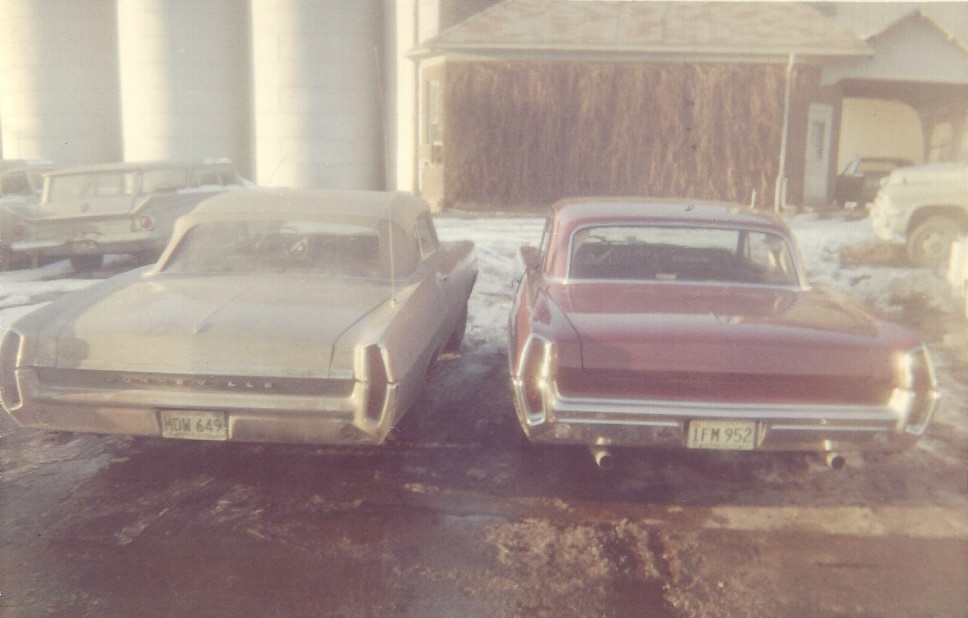 Projects - Barn find - 1964 Pontiac Catalina 421 early