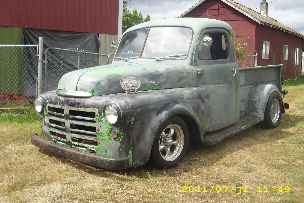 1949 dodge pickup   The H.A.M.B.