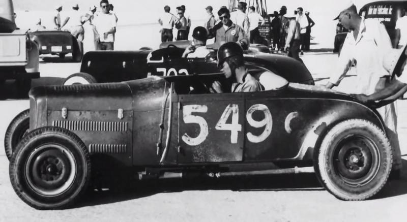 Dan Gurney in Skip Hudson's '29 Roadster - Bonneville 1950.jpg