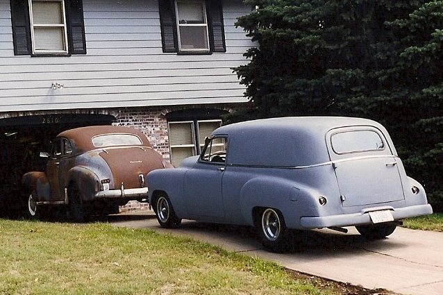 Technical 50 chevy car rear end swap the hamb deliveryn48chevg publicscrutiny Image collections