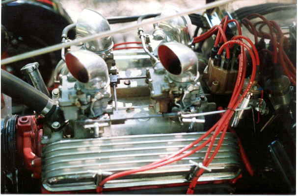 Deuce Coupe 4 carb set up.JPG