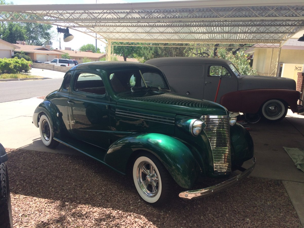 38 Chevy coupe | The H A M B