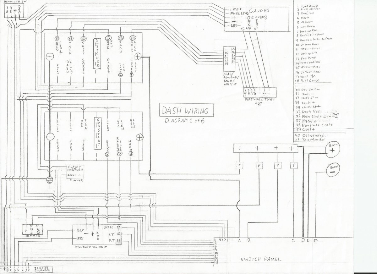 technical - wiring from scratch: opinions/guidance welcome ... pc 030 1b wiring diagram