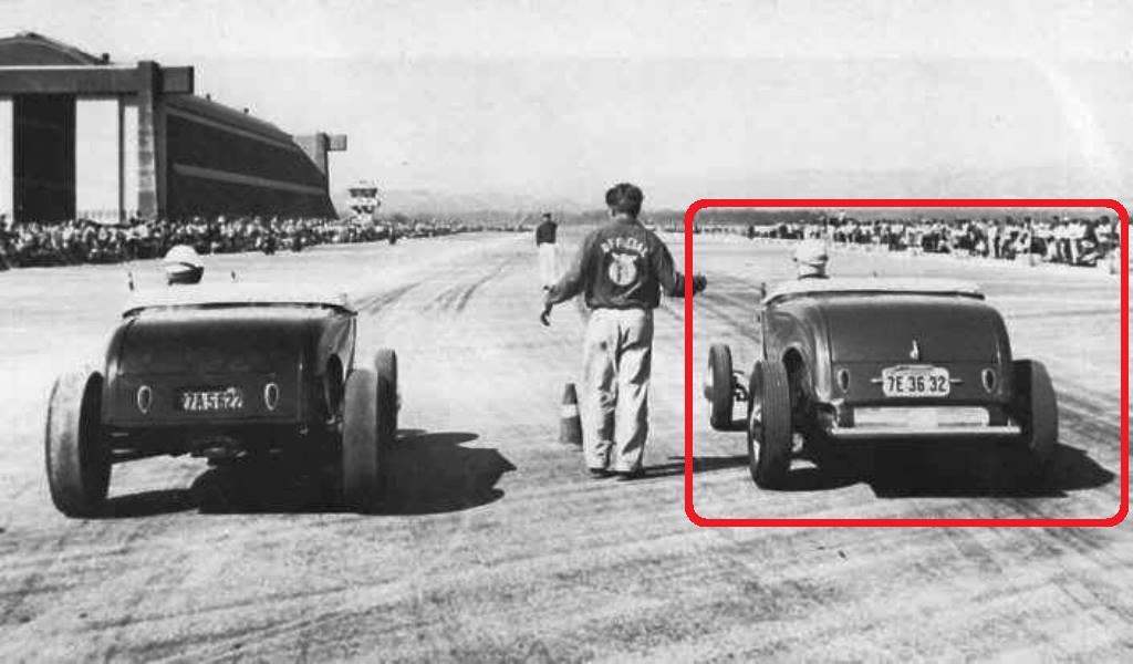 Dick Price Deuce at 1950 MCAF Tustin Drag Races.JPG