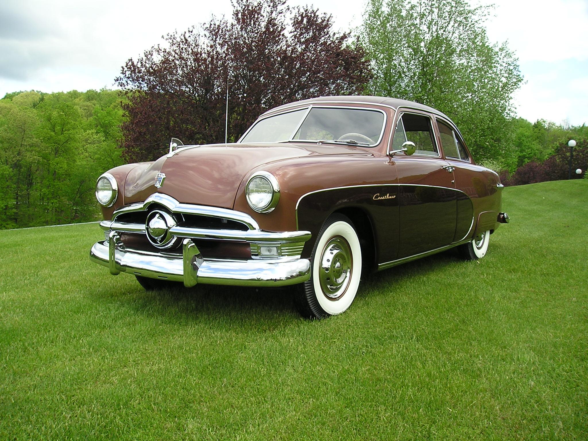 1950 Ford Crestliner 2 Door Sedan - Completely Restored ...1950s Cars For Sale Pa