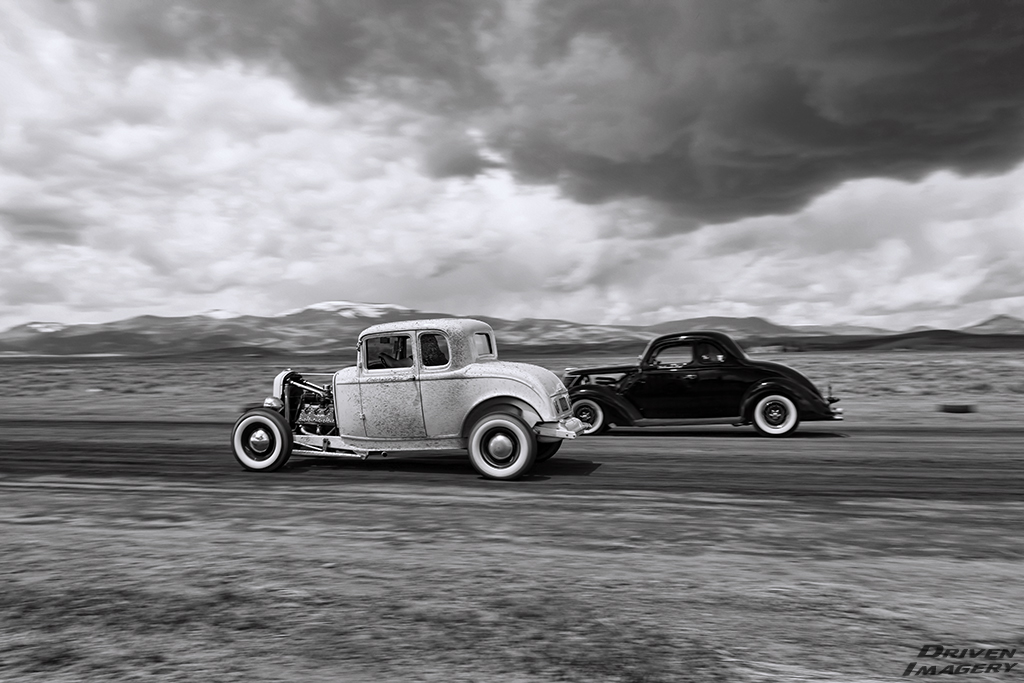 Dominic Olson - 1932 Ford 5W Coupe & His Grandfather - 1937 Ford Coupe.jpg