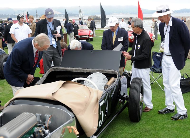 Don Montgomery judging at the 2010 PBCd'E (S-G Roadster).jpg