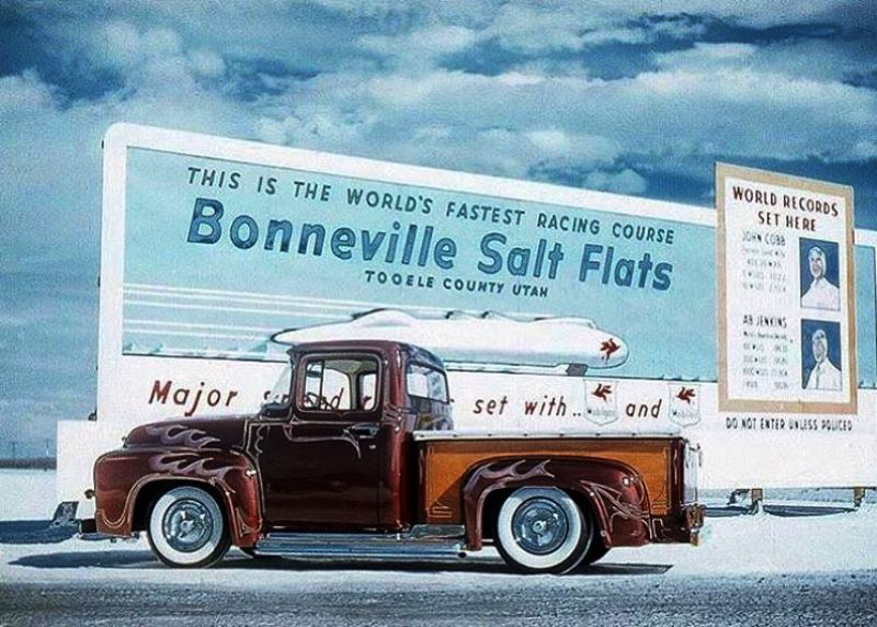 Donn Varner's '56 F-100 at Bonneville.jpg