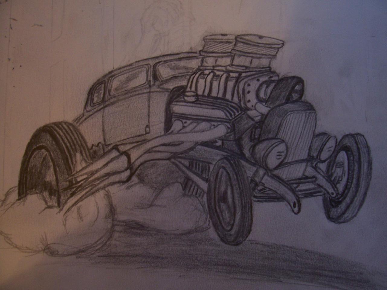 Art & Inspiration - *** ART CHALLENGE 10! Car Toon the HAMB ...