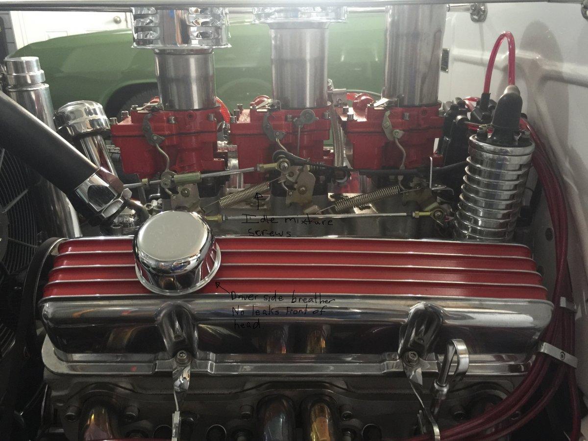 Technical - SBC 327 Breather PCV Setup on 1931 Ford Pickup