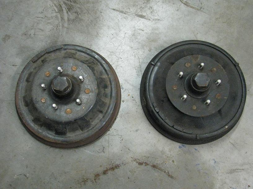 1946 1947 1948 PLYMOUTH BRAND NEW FRONT BRAKE DRUM WITH HUB LEFT HAND THREAD 48