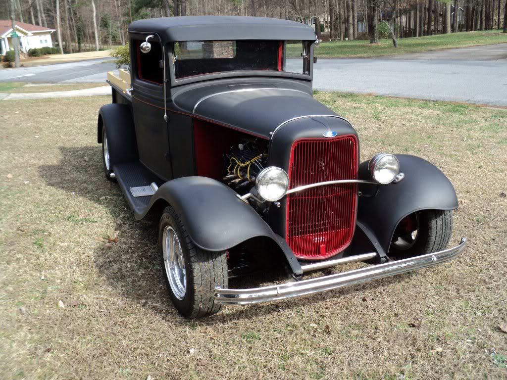 1932 Ford pickup hot rod for sale