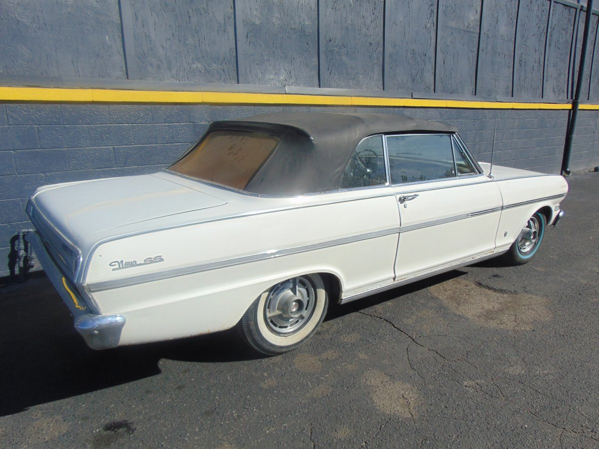 Cars For Sale In Michigan By Owner >> 1963 Nova SS Convertible | The H.A.M.B.