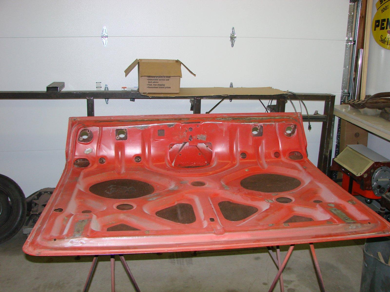 1961 impala trunk lid the h a m b