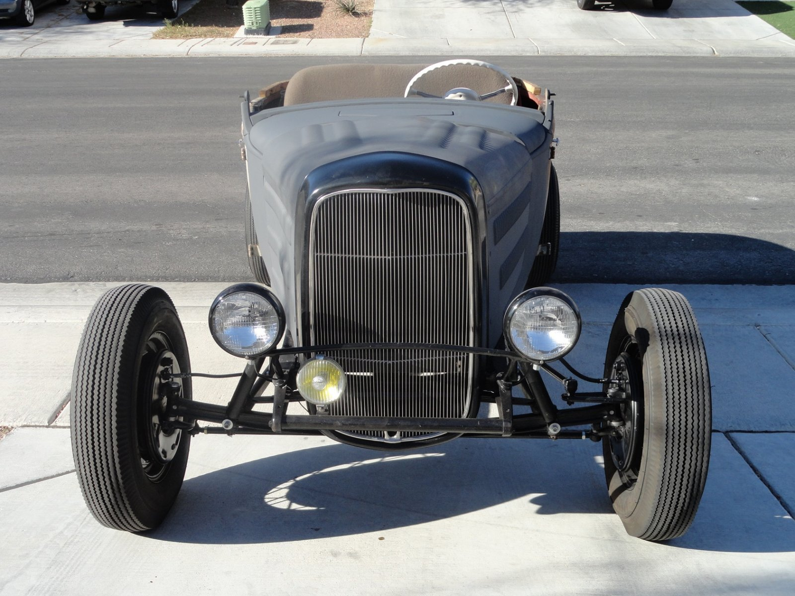 1930 channeled chopped ford roadster, hot rod   The H.A.M.B.