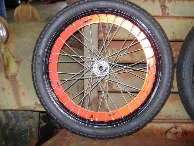 Hallcraft Dragster Front Wire Wheels 2 25x17 Golden Boy
