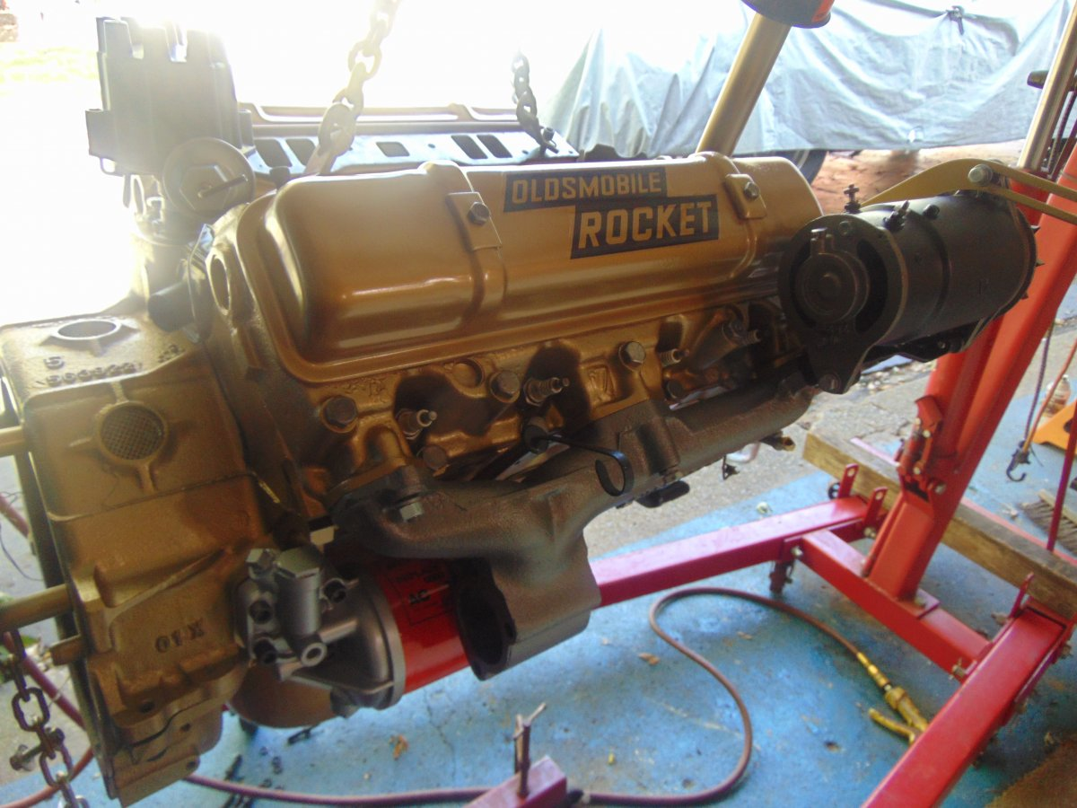 NEW, REBUILT COMPLETE 324 OLDSMOBILE ENGINE(.030) OVER ...