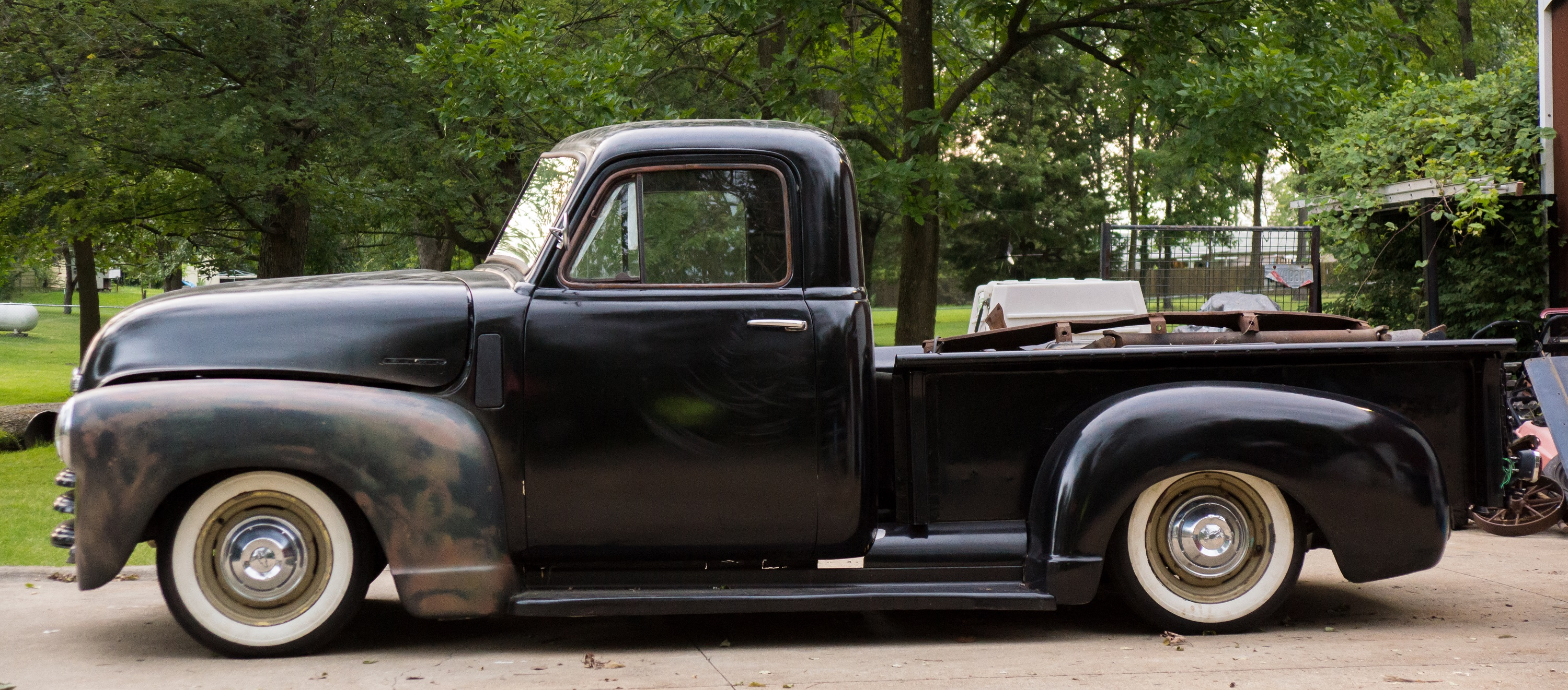 1947 Chevy Truck 3 Window Shortbed The H A M B