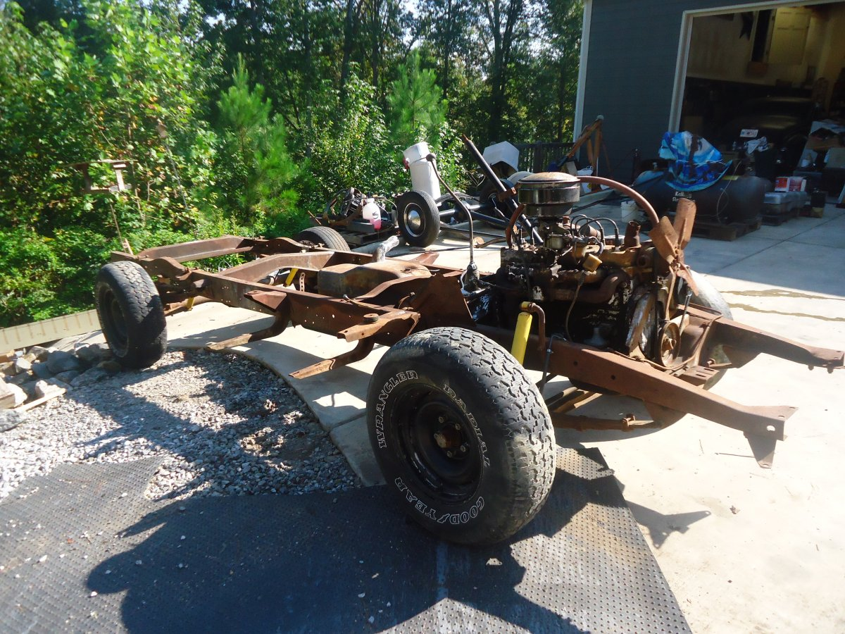 1954 Dodge Pickup Truck Chassis The Hamb Dsc05751 This Is For A
