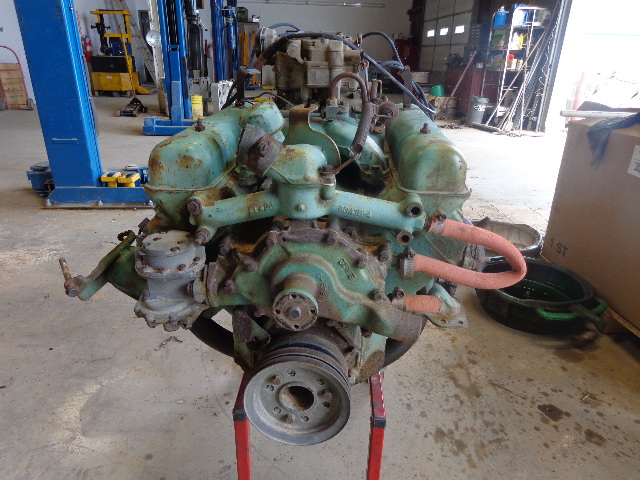 1955 322 Buick Nailhead with 4 barrel intake complete | The