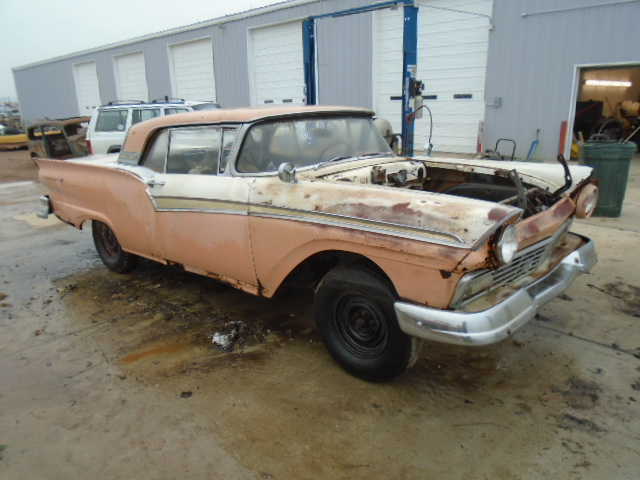 1957 Ford Skyliner Retractable Parts Car The H A M B