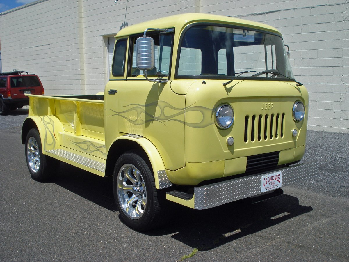 Willys Fc 170 For Sale >> 1958 Jeep FC--150 CAB OVER -- SOLD SOLD SOLD !!! | The H.A.M.B.