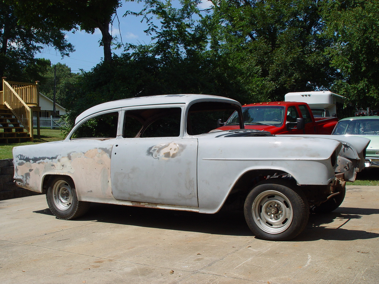 All Chevy 55 chevy for sale : 1955 Chevy 210 2-dr Post | The H.A.M.B.