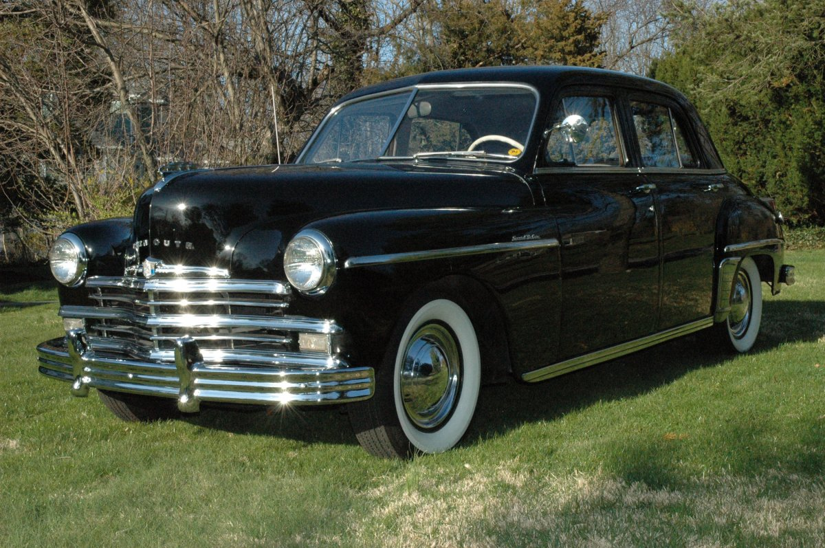 1949 Plymouth Special Deluxe Restored And Originally