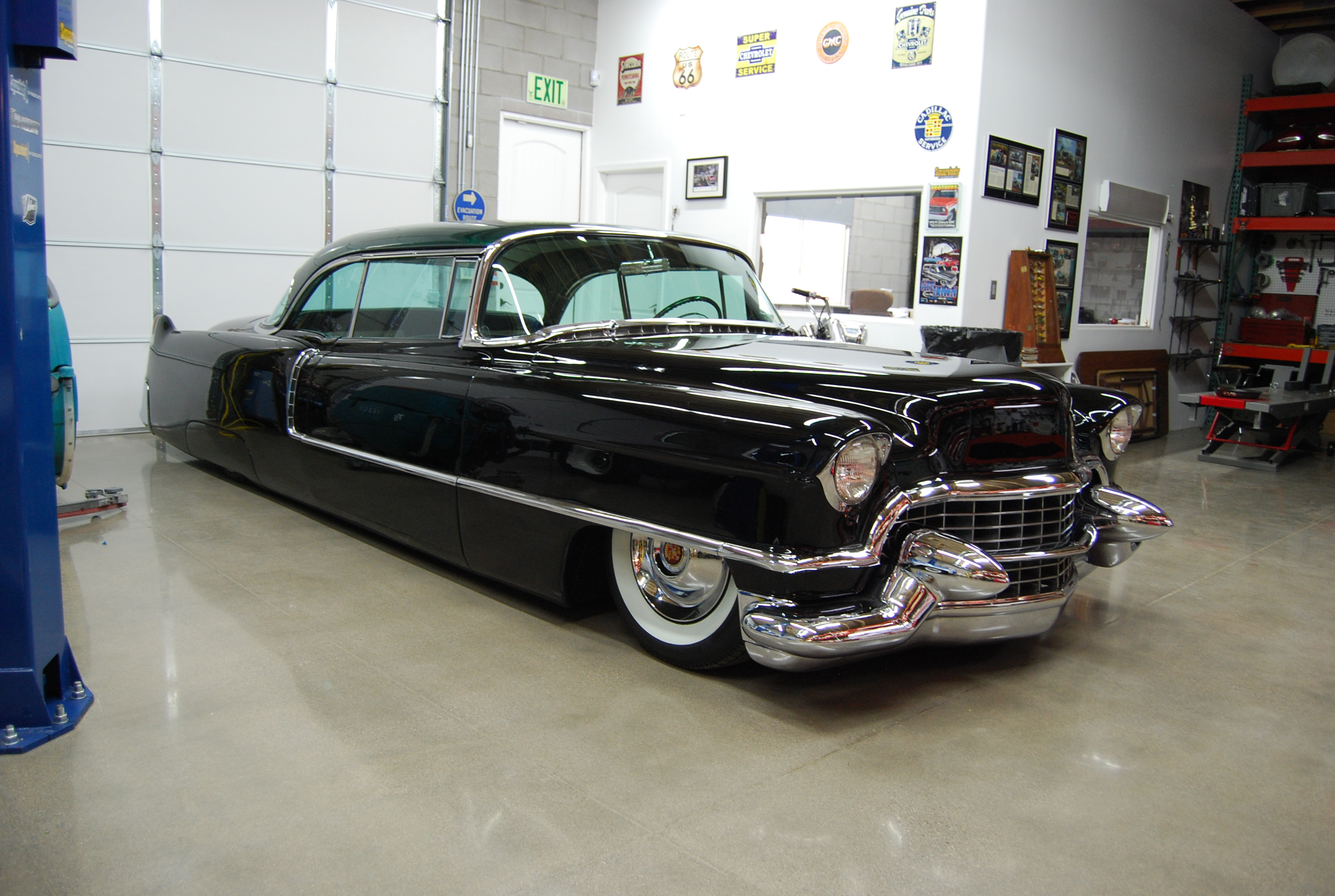 1955 Cadillac Kustom Coupe Hot Rod The H A M B