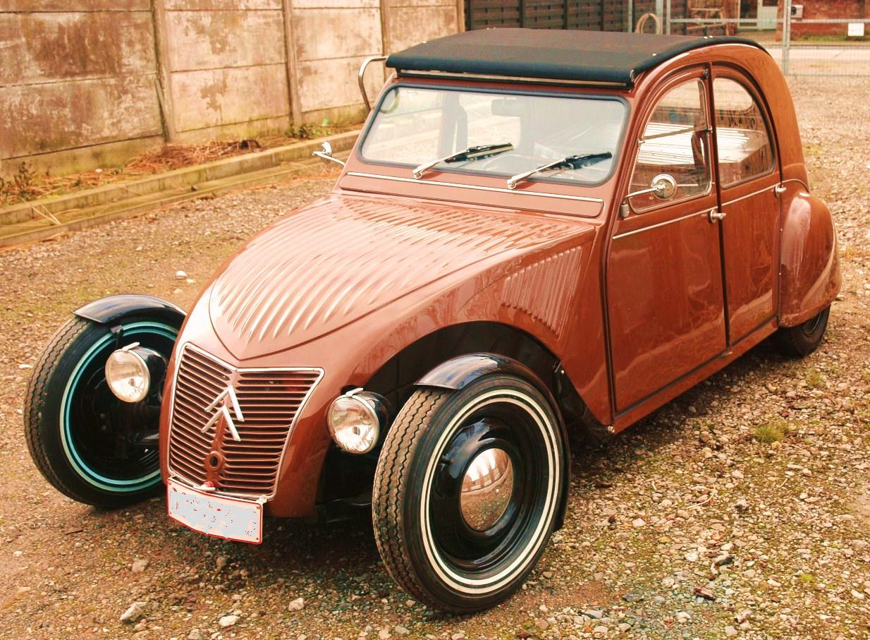 citroen 2cv hot rod project