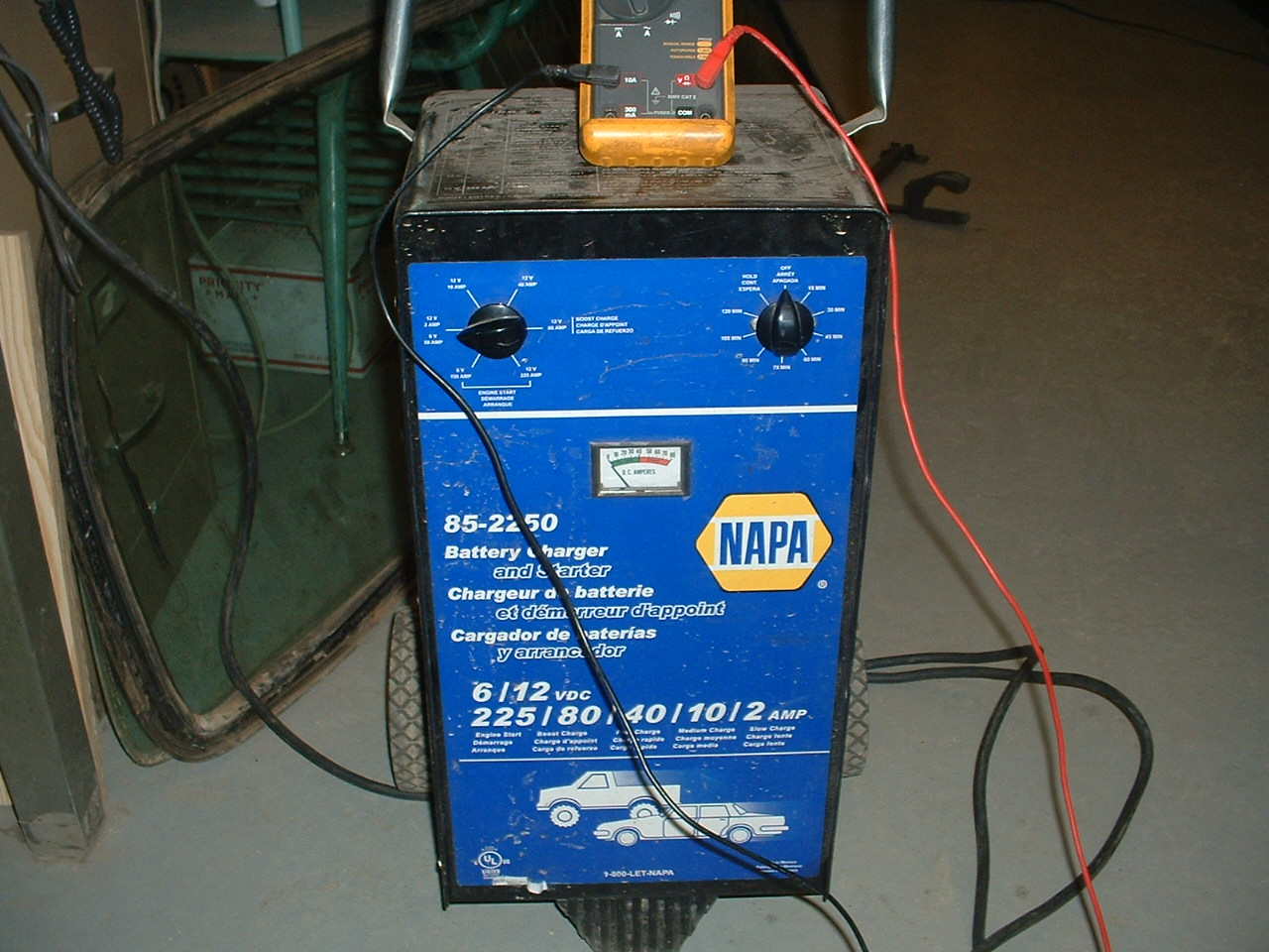 Napa Battery Charger Wiring Diagram : Lestronic battery charger wiring diagram circuit