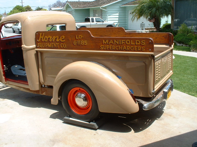 Hot Rods Shop Truck Sideboard Pics And Design Ideas