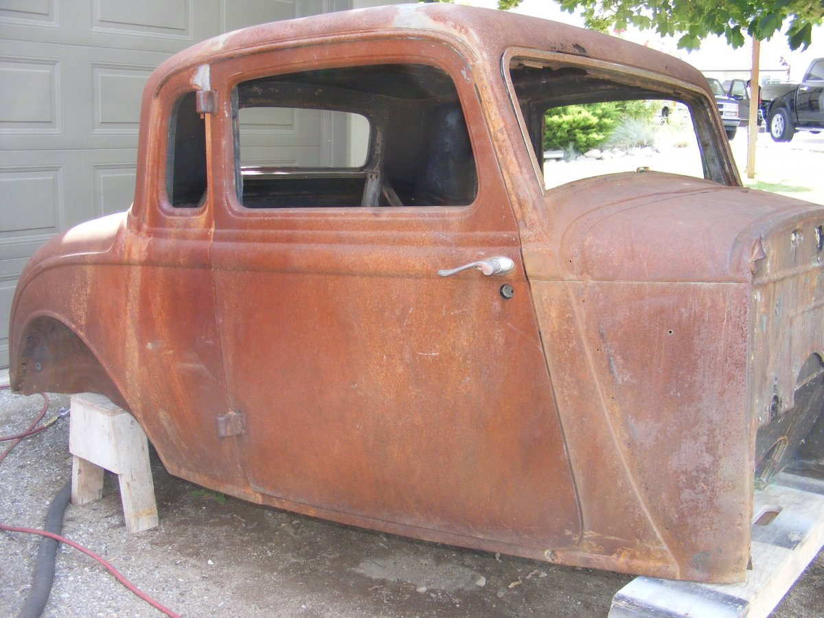 1934 Dodge Coupe Body The H A M B
