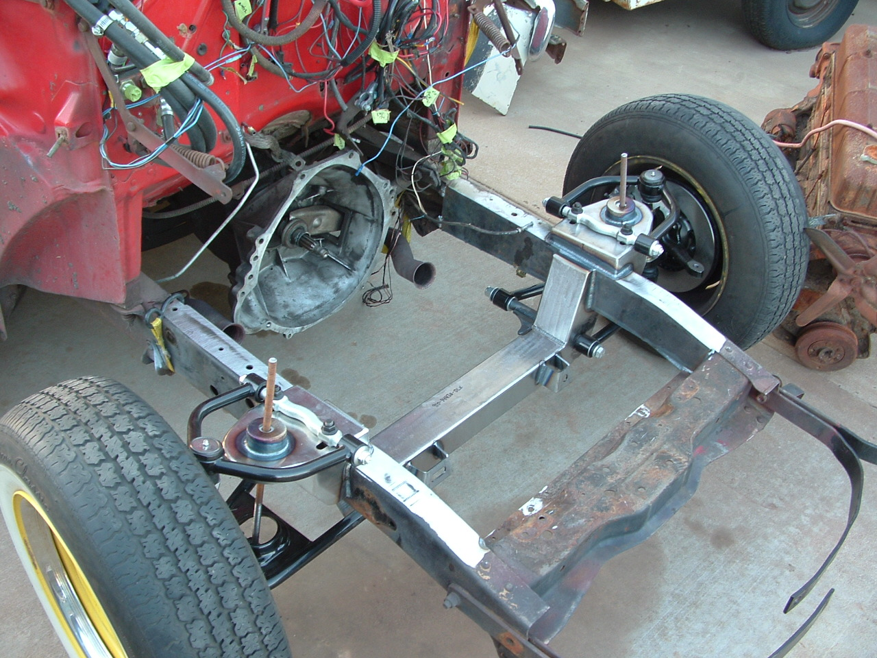 ft suspension suggestions for 46 ford truck | the h.a.m.b.  the jalopy journal