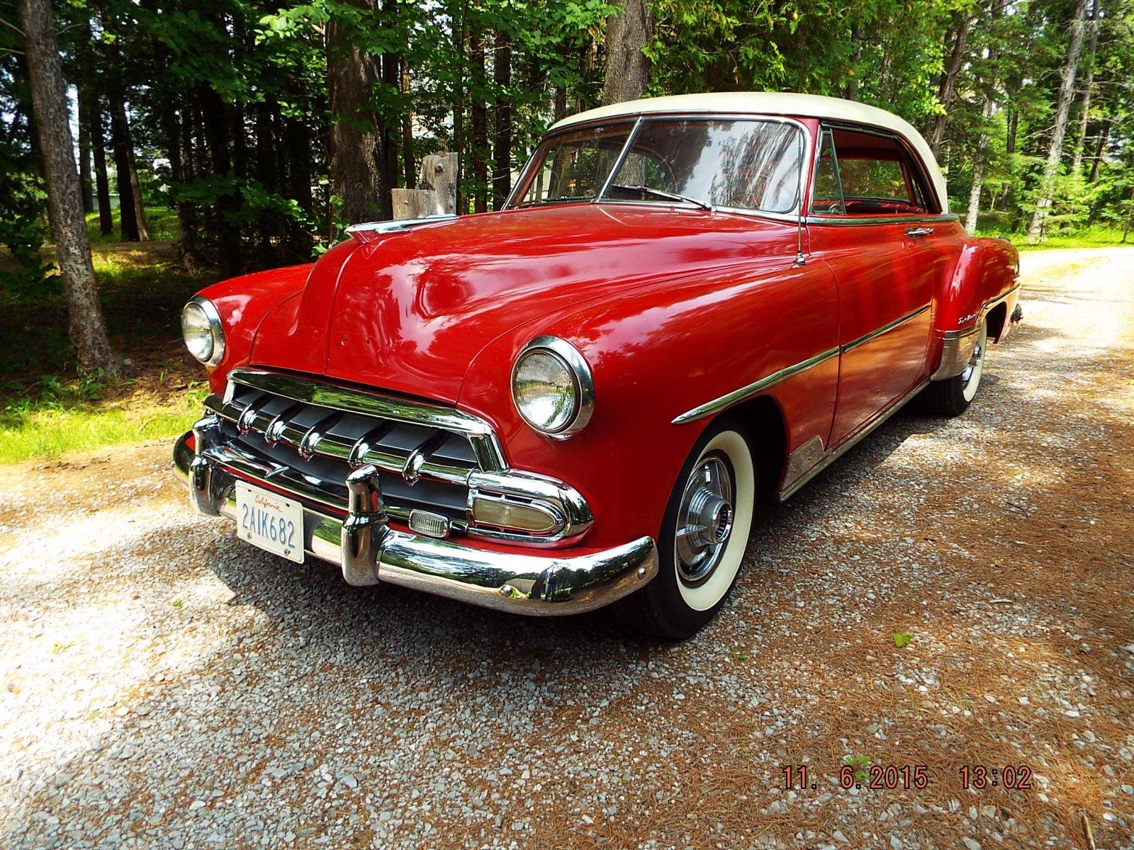 1952 chevrolet bel air 2 door hardtop original rust free for 1952 chevy belair 4 door