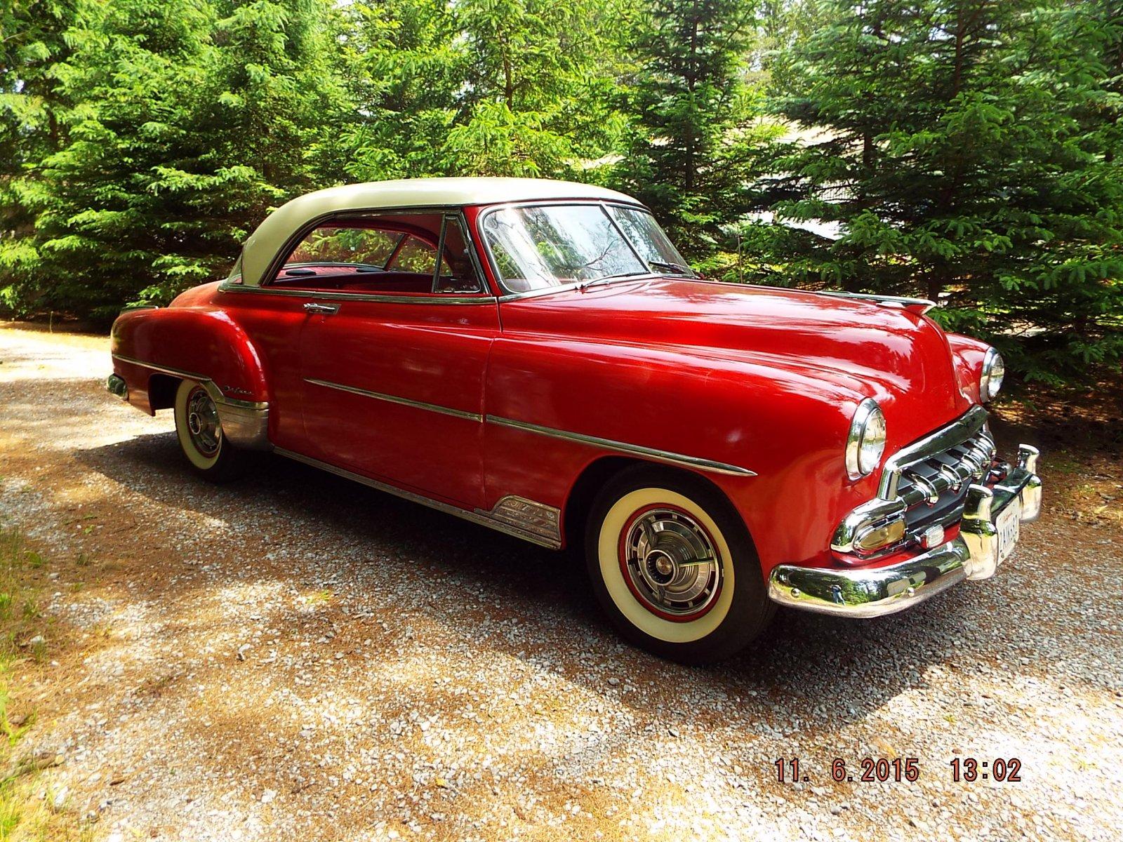 1952 chevrolet bel air 2 door hardtop original rust free for 1952 chevy 2 door hardtop
