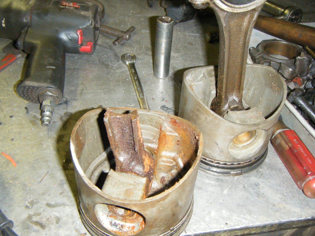 What to do with this broken 283 V8 | Page 2 | The H A M B