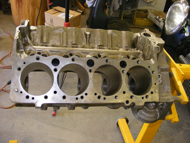 Chevy LJ 327 Block, 283 Crank, SJ Rods, STD TRW 301 302 Pistons
