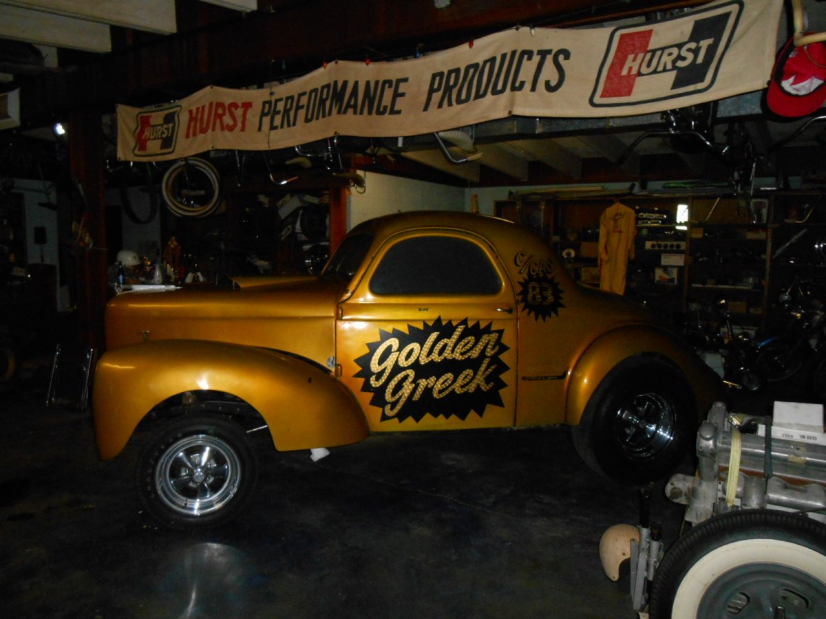 1940 Willys coupe gasser from the 60's | The H A M B
