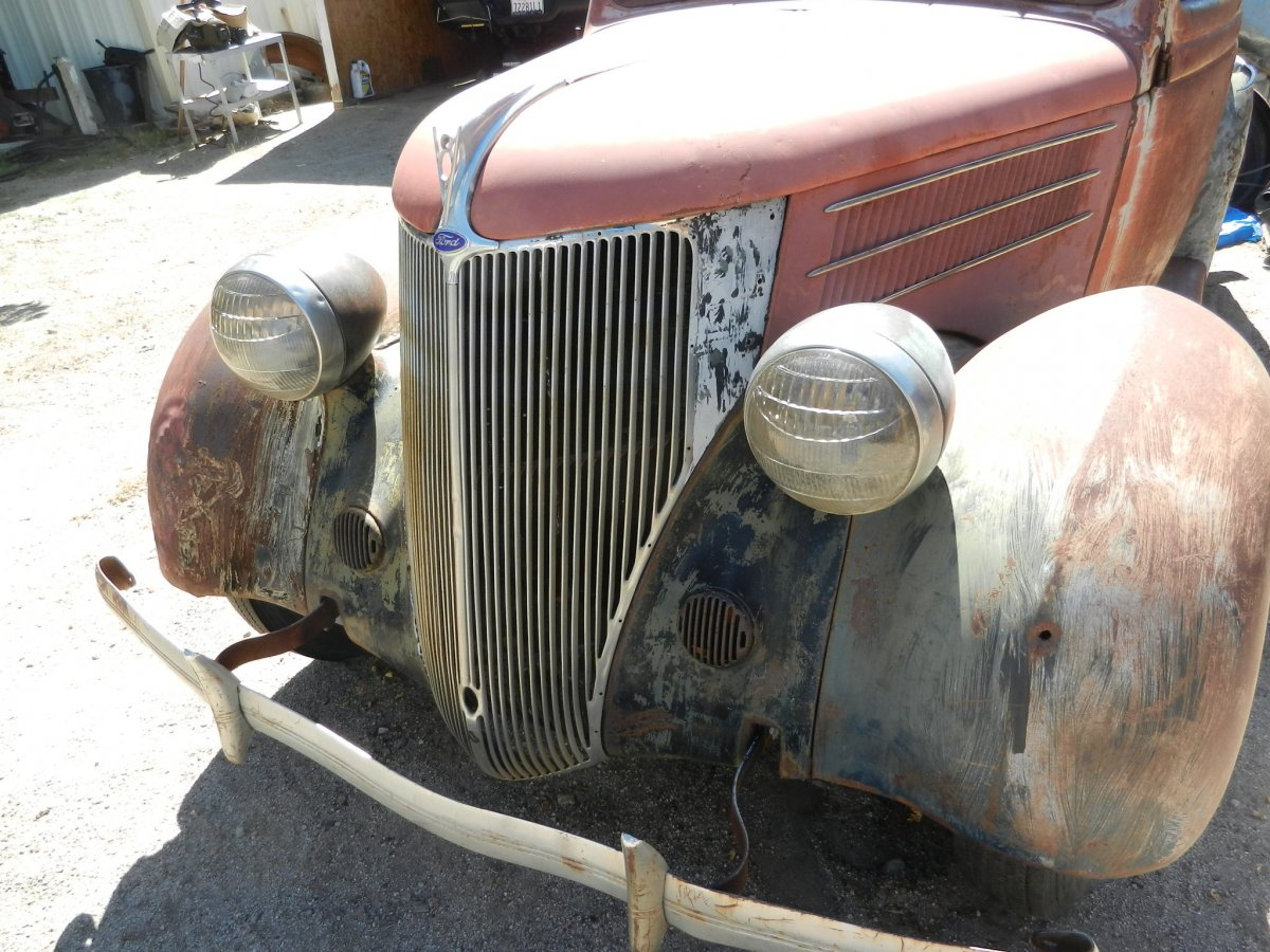 1936 ford 2dr hump project | The H.A.M.B.