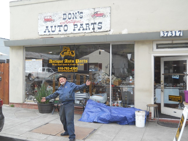 Folks Of Interest - Don's Antique Auto Parts, Niles, CA | The H A M B