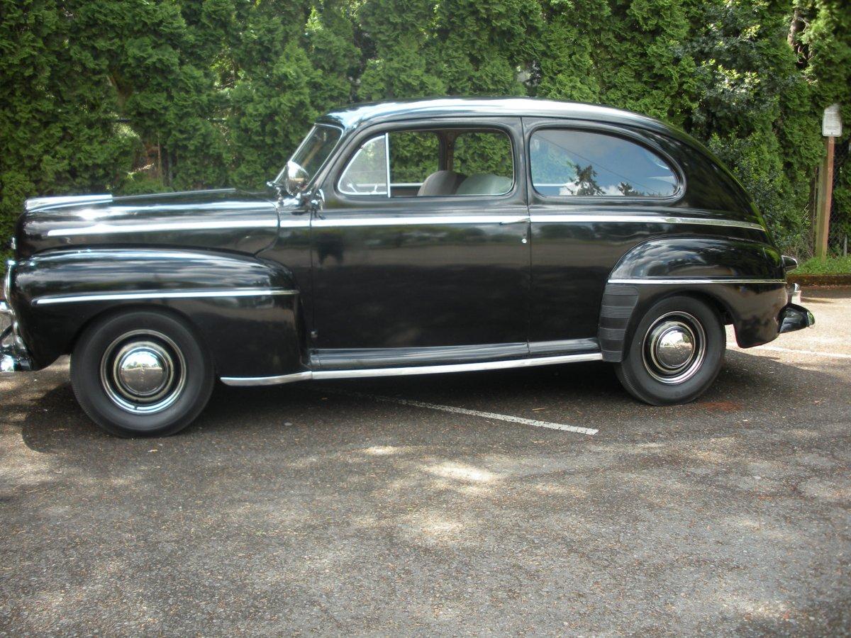 1947 ford 2 door sedan the h a m b
