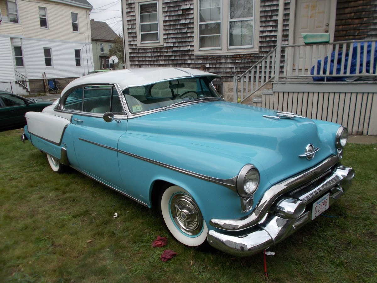 1953 Oldsmobile 98 Holiday Coupe Two Tone RARE | The H.A.M.B.